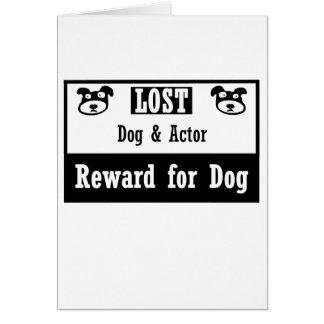 Lost Dog Actor Card