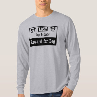 Lost Dog Editor T-Shirt