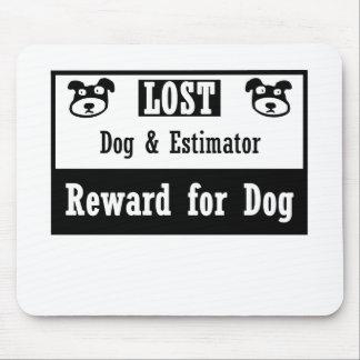 Lost Dog Estimator Mouse Pad