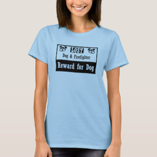 Lost Dog Firefighter T-Shirt