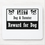 Lost Dog Forester Mouse Pad