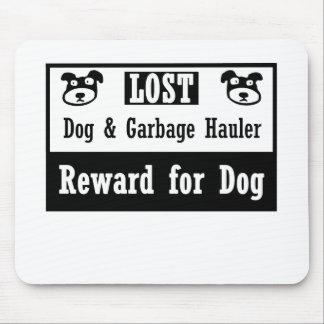 Lost Dog Garbage Hauler Mouse Pad