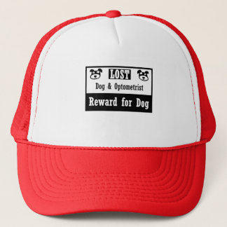 Lost Dog Optometrist Trucker Hat