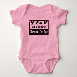 Lost Dog Salesperson Baby Bodysuit