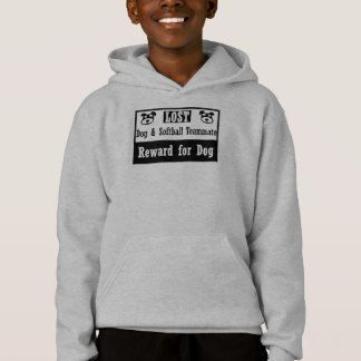 Lost Dog Softball Teammate Hoodie