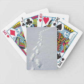 Lost Footprints Bicycle Playing Cards