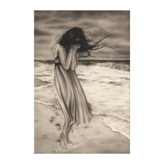 Lost Footsteps Canvas Print