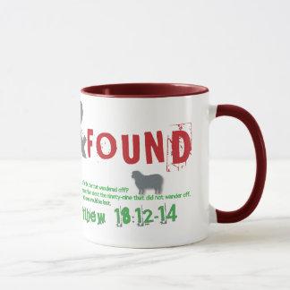 Lost & Found Christian mug