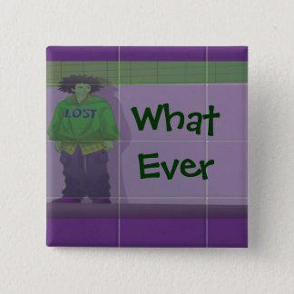 Lost Grunge Art Set Button