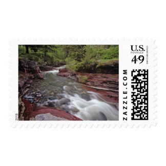 Lost Horse Creek in Waterton Lakes National Park Postage Stamps