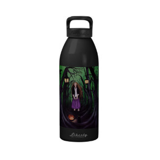 LOST IN A HAUNTED FOREST WATER BOTTLES