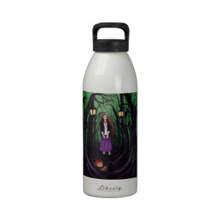 LOST IN A HAUNTED FOREST DRINKING BOTTLE