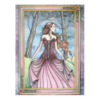 Lost in Avalon Fairy Tale Postcard