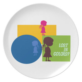 Lost in colors? Plate