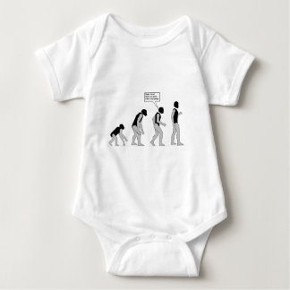 Lost in Evolution Baby Bodysuit