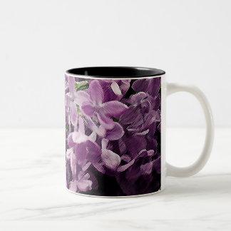 Lost in Lilac Two-Tone Coffee Mug