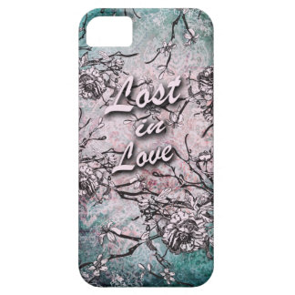 Lost in love cherry blossom artwork. iPhone SE/5/5s case