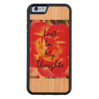 Lost in my Thoughts ! Carved® Cherry iPhone 6 Bumper Case