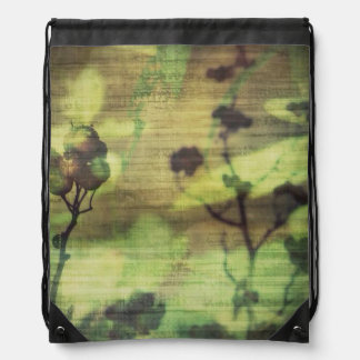 Lost in Nature Drawstring Backpacks