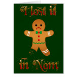 Lost in Nom Greeting Cards