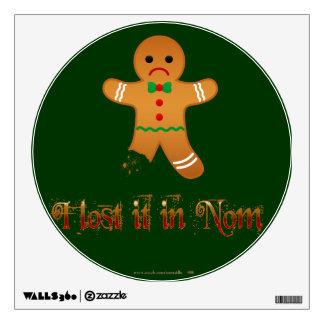 Lost in Nom Wall Sticker