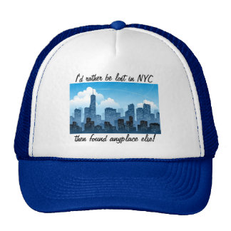 Lost in NYC Funny Hat