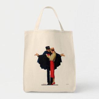 Lost in Paris Canvas Bag