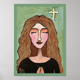 Lost in Prayer - praying is powerful print