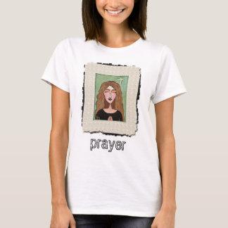 Lost in Prayer - praying t-shirt