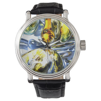 Lost in Space Abstract Wristwatch
