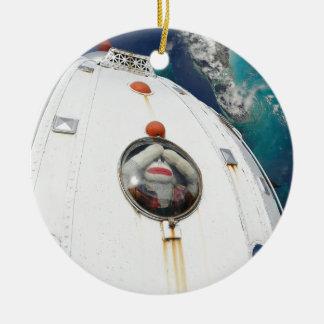 Lost in Space Monkey Ceramic Ornament