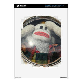 Lost in Space Monkey iPad 3 Skin
