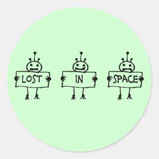 Lost in Space Classic Round Sticker