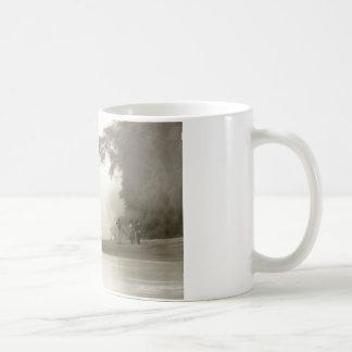 lost in the amazon mist coffee mug