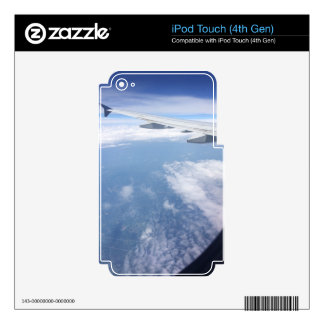 Lost in the Clouds iPod Touch 4G Skin