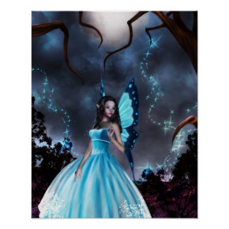 Lost in the Enchanted Forest Poster