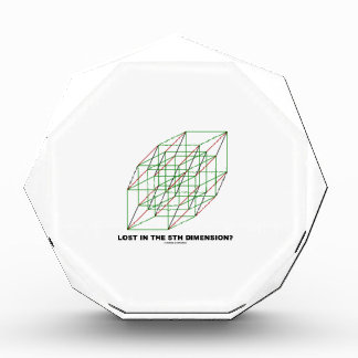 Lost In The Fifth Dimension? (Geometry Cube Humor) Award