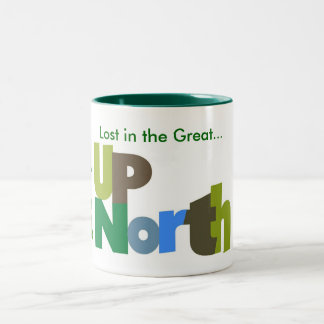 Lost In the Great Up North Mug