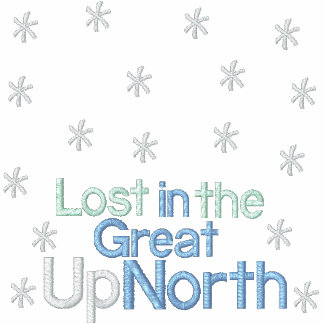 Lost In The Great UpNorth EM Tee
