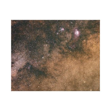 Art Themed Lost in the Milky Way Canvas Print