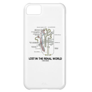 Lost In The Renal World (Kidney Nephron) Case For iPhone 5C