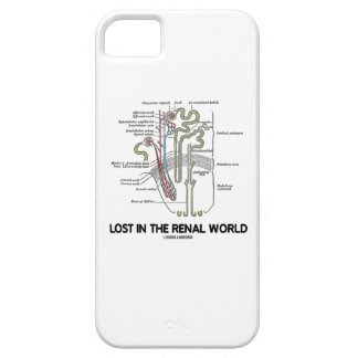 Lost In The Renal World (Kidney Nephron) iPhone SE/5/5s Case