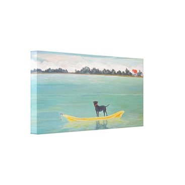 Art Themed Lost in the Right Direction Canvas Print