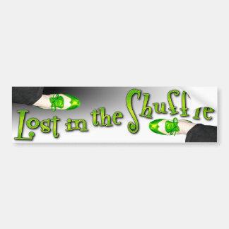 Lost in the Shuffle Bumper Sticker