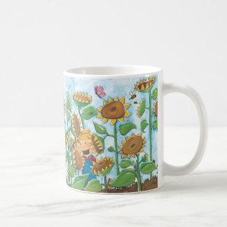 Lost in the Sunflowers Coffee Mug