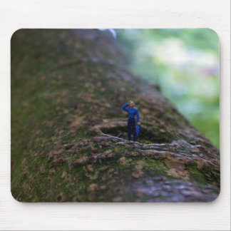 Lost In The Woods Mouse Pad