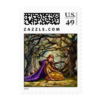Lost in the Woods stamp