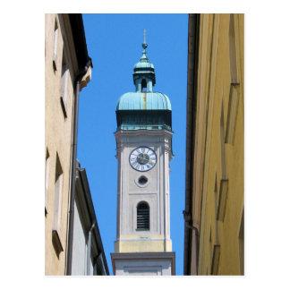 Lost in Time in Munich, Germany Postcard