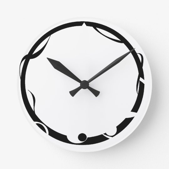 Lost in Time Wallclock