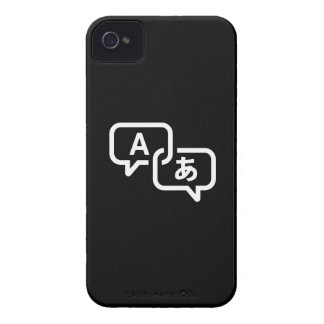 Lost in Translation Pictogram iPhone 4 Case